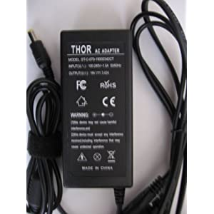 Thor Brand Replacement Ac Power Adapter Cord for Acer Aspire Laptop Pc