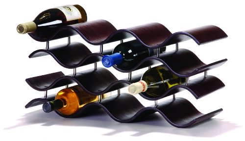 Table With Wine Storage front-24129