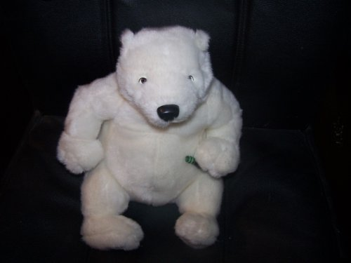Coca Cola Polar Bear  Coke Bottle Plush 12