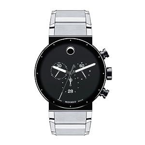 Movado Men's 0606800 Sapphire Synergy Analog Display Swiss Quartz Silver Watch