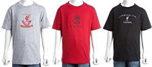 Liverpool Fc Kids 3 Pack T-shirts9-10 Years by Liverpool FC