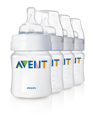Review Philips AVENT BPA Free Classic Polypropylene Bottle, Opaque, 9 Ounce, 5 Pack