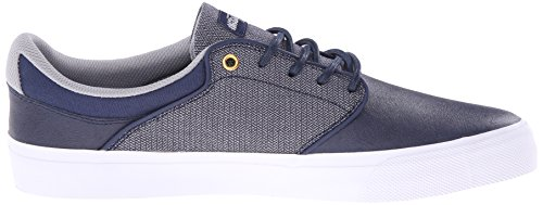DC Men's Mikey Taylor Vulc SE Skate Shoe, Navy, 8.5 M US