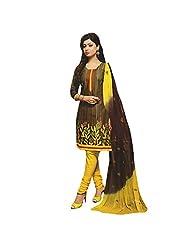 Siddhi Unstitched Cotton Printed Salwar Suit Dupatta Material ( SSHLPI-48AA )