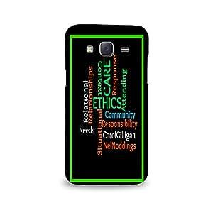 Mikzy Relationship Ethics Printed Designer Back Cover Case for Samsung J5