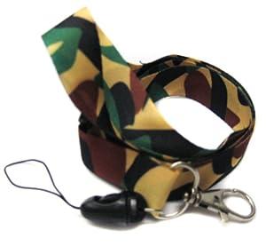 Lanyard Key Strap ID Holder Camo