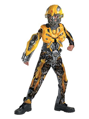 Boys Transformers Dlx Bumblebee Costume
