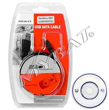 New USB Sync Data Cable for BlackBerry Curve 8350i / 9000 / 8800