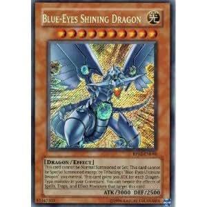 Amazon.com: Yu-Gi-Oh! - Blue-Eyes Shining Dragon (RP02 ...