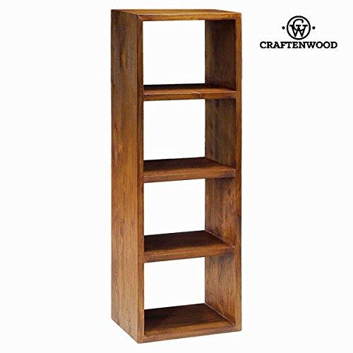 Libreria 4 moduli noce - Serious Line Collezione by Craften Wood (1000026318)
