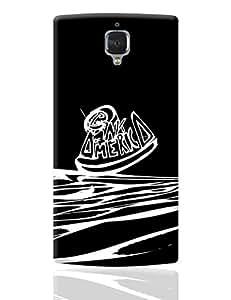 PosterGuy OnePlus 3 Case Cover - Bank Of America   Designed by: Devraj Barua