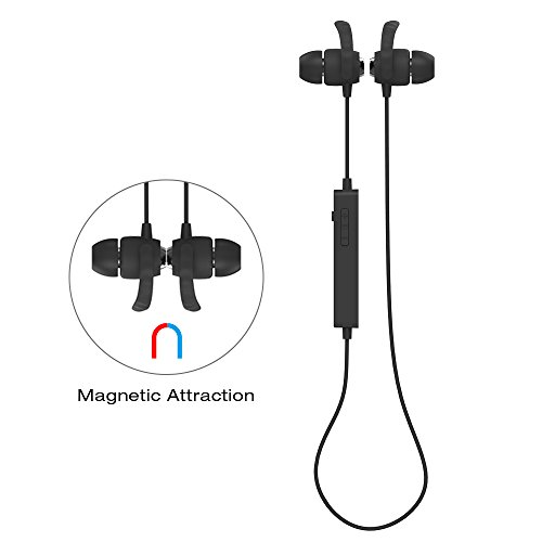 Bluetooth Headphones,Magnetic Wireless Noise Cancelling Bluetooth Earbuds/Headsets/Earphones