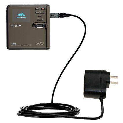 Sony Md Walkman Mz-Rh Compatible Advanced Rapid Wall Ac Charger - Amazingly Powerful Home Charge Design Built With Gomadic Brand Tipexchange