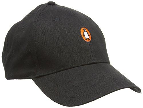Penguin Baseball Cap: Penguin LOGO (Black)