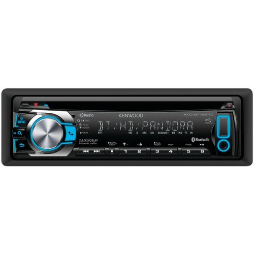Kenwood Kdc-Bt752Hd Single-Din In-Dash Cd Receiver With Bluetooth