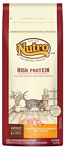 Nutro High Protein Adult Cat Chicken & Whole Brown Rice Recipe