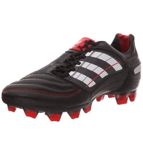 adidas X Predator_X Fg Col, Scarpe da calcio Uomo, Nero (noir/blanc prédator/rouge prédator), 39 1/3