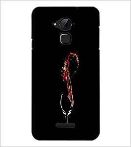 PrintDhaba Drink D-1220 Back Case Cover for COOLPAD NOTE 3 LITE (Multi-Coloured)