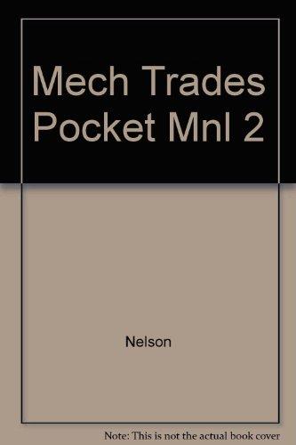 Mechanical Trades Pocket Manual