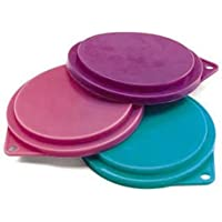 3-Pack Pet Food Can Covers