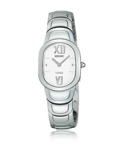 SEIKO Reloj con movimiento cuarzo japonés 70068 Acero