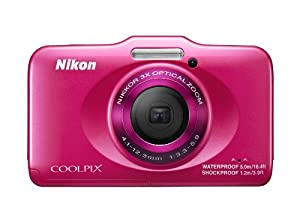Nikon COOLPIX S31 10.1 MP Waterproof Digital Camera with 720p HD Video (Pink)