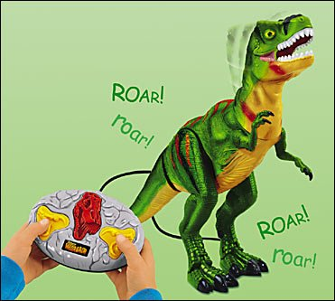 Buy Mighty Megasaur R/C Dinosaur: Raptor