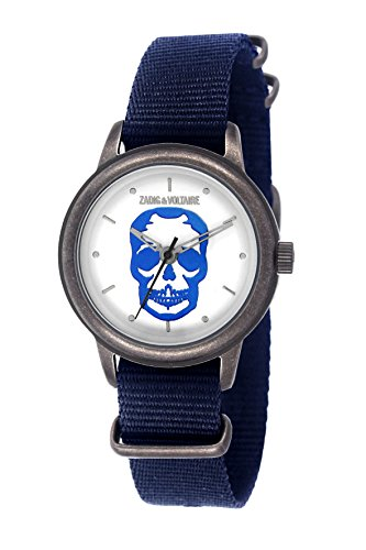 Zadig & Voltaire ZV 115/BG Antik  - Wristwatch Unisex, Nylon, Band Colour: Navy