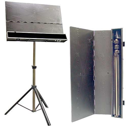 folding music stand:
