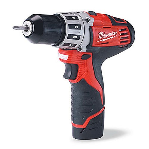 Milwaukee 2407-22 M12 3/8 Drill Driver Kit (12v Cordless Drill compare prices)