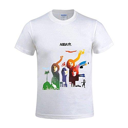 Abba-The-Album-Men-Shirt-Round-Neck-Diy
