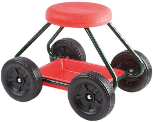 Giardinaggio: consigliere wenko sgabello da giardino con rotelle