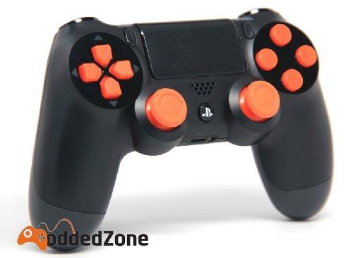 Black/Orange Ps4 Rapid Fire Custom Mo...