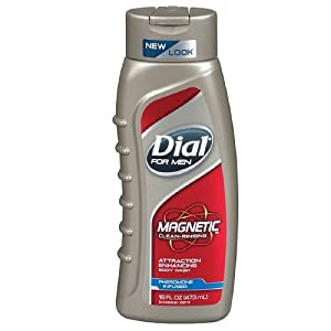 Magnetic Attraction Enhancing Body Wash Men by Dial, 16 Ounce
