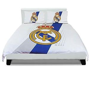 Parure de lit double housse de couette fc barcelone manchester real madrid real madrid - Parure de lit fc barcelone ...