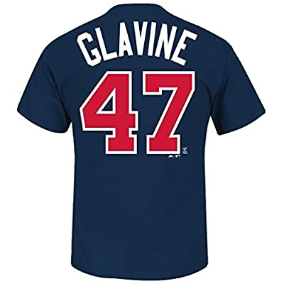 Tom Glavine Atlanta Braves Majestic MLB Hall of Fame Player T-shirt