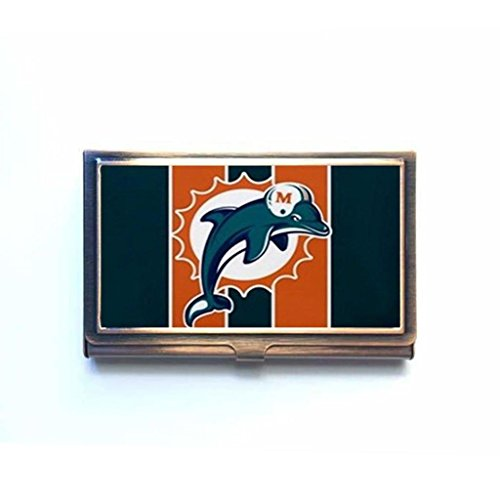 Dolphins business card holders miami dolphins business for Business card miami