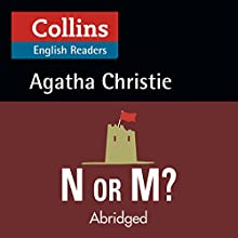 N or M?: B2 (Collins Agatha Christie ELT Readers) Audiobook by Agatha Christie Narrated by Jane Collingwood