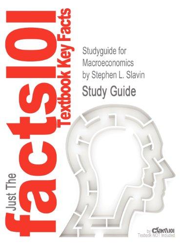 Studyguide for Macroeconomics by Stephen L. Slavin, ISBN 9780077317195 (Cram101 Textbook Outlines)