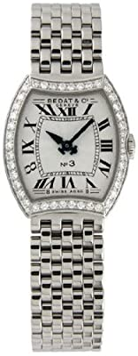 Bedat No. 3 Diamond Stainless Steel Ladies Watch 304.031.100