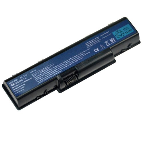 6-Cell 4400mAh Brand New Battery for Acer eMachines D520 D525 G725 E430 E525 E625 E627 E630 E725 G525