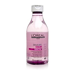 L'oreal Serie Expert Delicate Color Shampoo for Unisex, 8