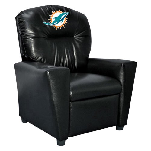 NFL Miami Dolphins Tween Faux Leather Recliner at Amazon.com