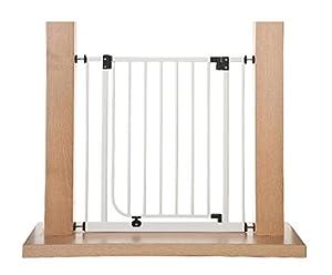 Impag® Puerta-rejillas de seguridad 73 - 142 cm para enganchar sin taladrar EasyStep marca Impag GmbH