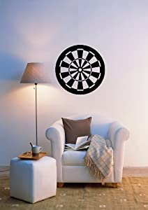 Wall Stickers Vinyl Decal Darts Target Decor For Living Room I931 Home Kitchen