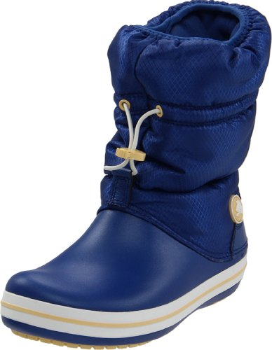 Crocs Women's Crocband Winter Aegean Blue/Custard Mid Calf Boot 11035-45V-440 5 UK