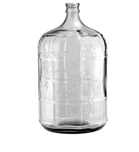 Amazon.com: 5 gallon glass water jug