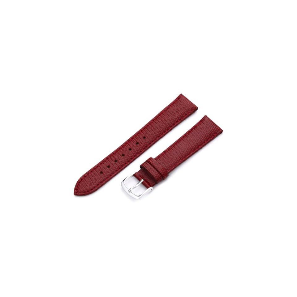 9d8afc8094e Hadley Roma Womens LSL725LQ 180 18 mm Red Java Lizard Grain Watch Strap