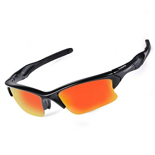 Duduma Gafas de Sol Deportivas Polarizadas Perfectas Para Esquiar Golf Correr Ciclismo TR566 Súper Liviana Para Hombre y Para Mujer