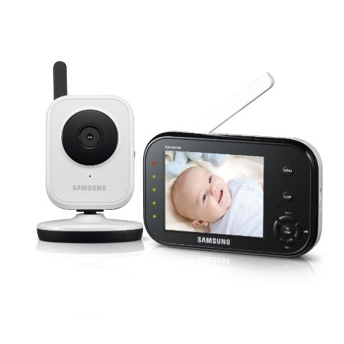 samsung sew 3037w wireless video baby monitor with infrared night vision and. Black Bedroom Furniture Sets. Home Design Ideas